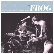 Frog Whatever We Probably Already Had It album review Audio Antihero