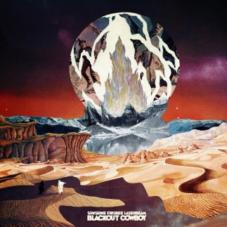 Sunshine Frisbee Laserbeam Blackout Cowboy album review By the time it gets dark records