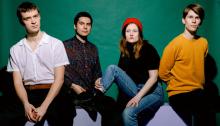 Sløtface Stuff 2019 stream new music indie rock pop emo punk Norway
