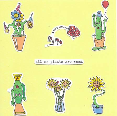 crush all my plants are dead