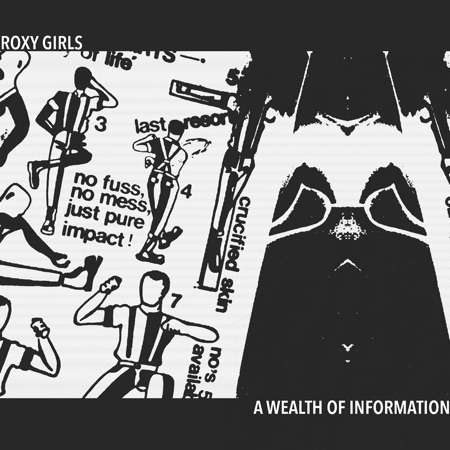 Roxy Girls A Wealth of Information EP review Moshi Moshi Records
